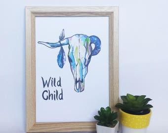 Art Print - Wild Child