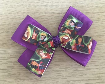 Halloween Princess Bow / Halloween Hair Bow / Holiday Bow