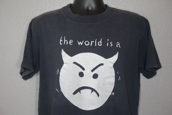1996 RARE Smashing Pumpkins - The World is a Vampire - 1996 Infinite Sadness Tour Vintage Concert T-Shirt