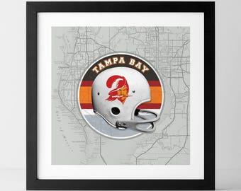Vintage NFL: Tampa Bay Buccaneers-inspired
