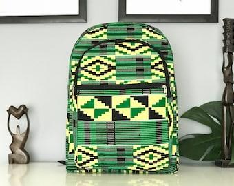 Ankara backpack / Africanprint backpack
