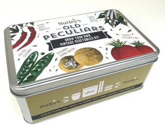 Nutley's Old Peculiars Grow Your Own Vintage Vegetables Kit