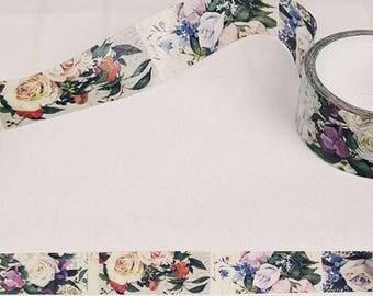 Washi Tape, Masking Tape, tape adhesive scrapbooking flower 2cm
