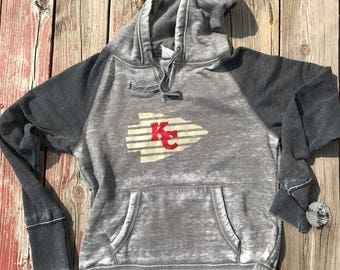 Vintage washed Kansas City Chiefs Sweatshirt