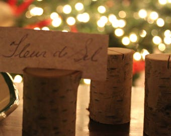 Birch Place Card Holders (set of 4)