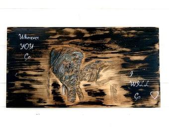 Elephant Wall Decor elephant wall art   etsy