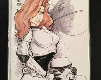 Pin up storm trooper