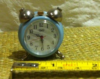Vintage alarm clock dollhouse miniature accessoires decoration