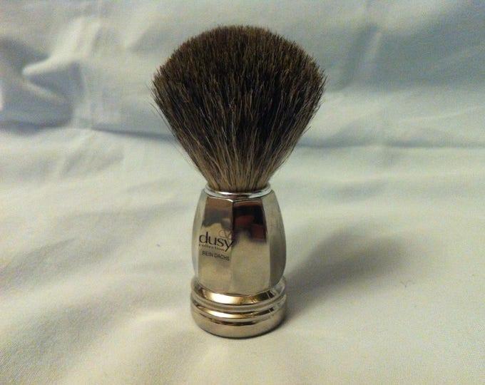 Vintage brush Badger razor shave #2