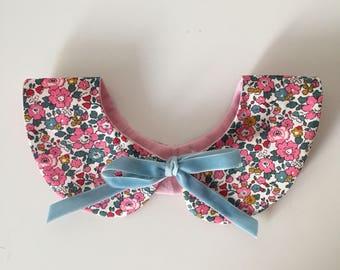 Little girls Liberty Print Collar