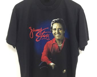 Vintage 90s Jimmy Sturr Tshirt King Of Polka/Ochestra/Country Music  Tour 1993 Copyright by Screen Play Size Large