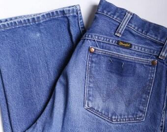 Vintage Wranglers Denim Jeans Mens 33x33