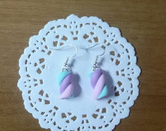 Marshmellow Earrings