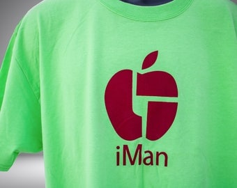 iMan t-shirt - Candy Apple - Limited Edition