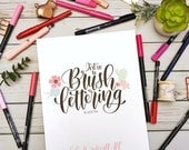 Intro to Brush Lettering DOWNLOADABLE Guide