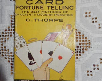 Foulsham Fortune Telling Cards, Destiny Playing Cards, Fortune Telling Methods, Vintage Fortune Book, Card Layouts Ancient and Modern,