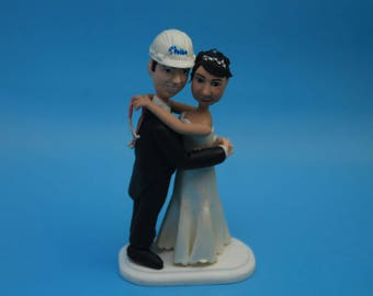 Personalised Wedding Cake Topper. Wedding keepsake. The bride and groom engineer. Cake decoration. Party Supplies. engineer & Doctors nurse