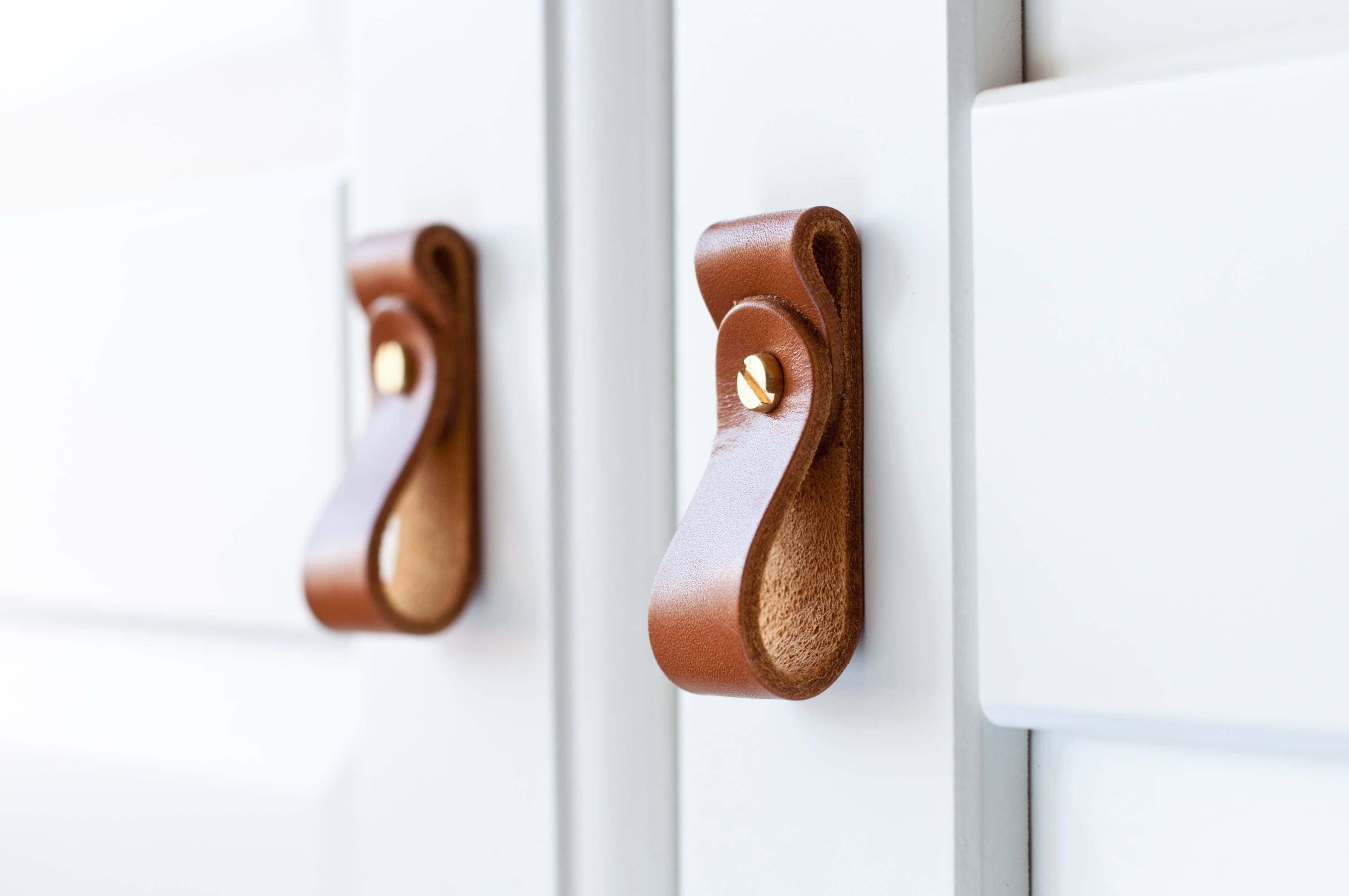 Leather Drawer Pulls, leather door pulls,Leather Knobs, Leather Door ...