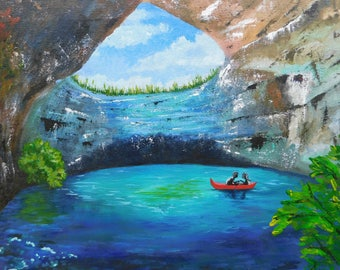Water Cave Painting