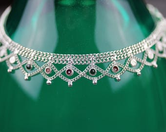 Traditional anklets - indian wedding payal anklet pair - light weight wedding anklet - Bollywood dance anklet - Bridal anklet - pair anklet