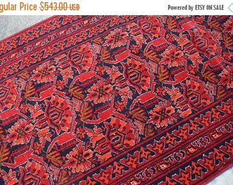 45 % OFF BIG SALE Hand Knotted wool Persian Marchaqi rug runner 2'6 x 6'7 Ft