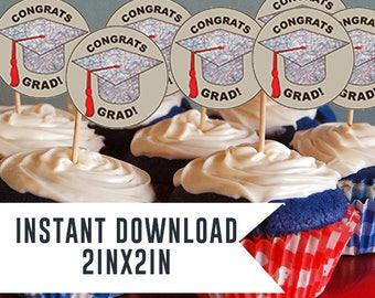 Graduation, Graduation Party, Graduation celebration , Graduation cupcake toppers, Graduation toppers, Graduation cupcake,Graduation Decor,