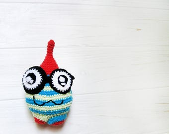 Amigurumi desk toy crocheted desk toy amigurumi stress toy anti stress crochet toy