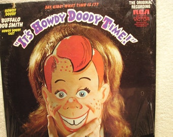 It's Howdy Doody Time    Buffalo Bob Smith  Sealed Vinyl Record Childrens