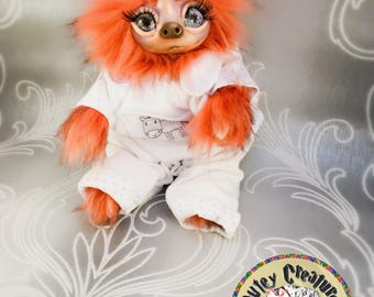Ooak Artist Bear/Sloth/monster/Creature - Tangier