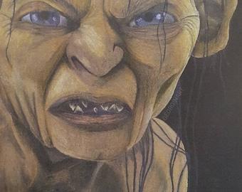Gollum - Art Print