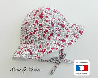 Bob liberty red & white baby hat (baby summer hat)