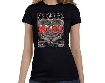 Classic Rock: AC/DC Black Ice Women's T-Shirt - Ready to ship!