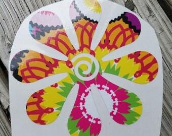 Flower Vinyl Decal