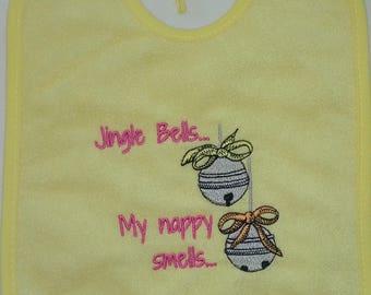 Baby's Bib - Christmas