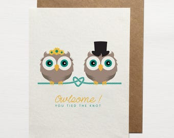 Owlsome ! You Tied The Knot