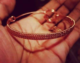 Copper Wired Bracelet