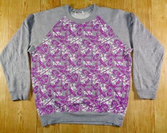 20% OFF Vintage 90s One Piece Anime Japan Purple Logo Sweatshirt