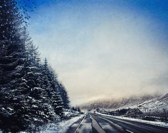 16 x 24 inches (The Road to Glencoe)