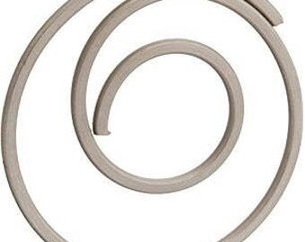 40 PCS Italian Style Spiral Round Metal Paper Clip, Paper Clips, Binder Paper Clip