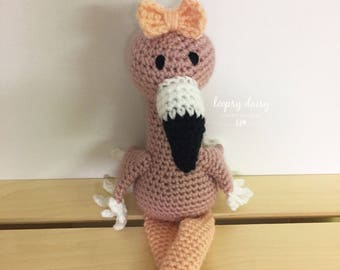 Amigurumi Flamant Rose : Crochet flamingo Etsy