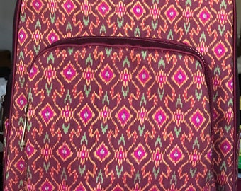 Handmade silk backpack TW001