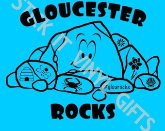 Gloucester Rocks T-shirt