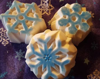 Winter Snowflakes Soap