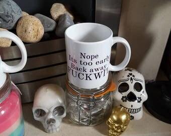 Offensive sweary mug