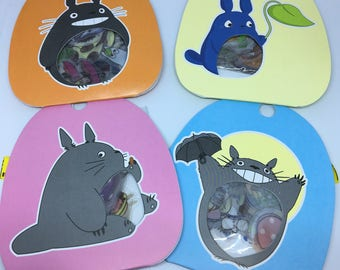 One packet of 60 brand new cute Totoro sticker flakes  for scrapbooks, planners or journals Kawaii Japan San-X