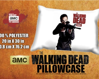 The Walking Dead Aaron Ross Marquand  Pillowcase