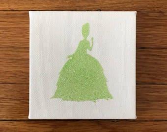 Disney Princess Silhouette - Tiana