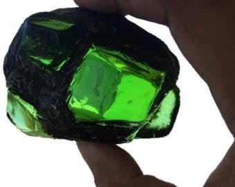 Smallville style Kryptonite meteor rock prop replica