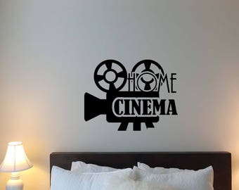 Theater Wall Decal Etsy - Print custom vinyl wall decals