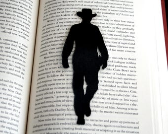 Gary Cooper Bookmark | High Noon | Hand-Cut Silhouette